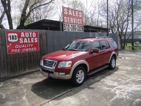 Ford Road Auto Sales >> Ford Used Cars Pickup Trucks For Sale Lockhart 183 Auto Sales