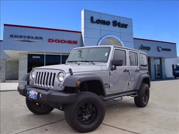 2014 Jeep Wrangler Unlimited for sale in Cleburne, TX