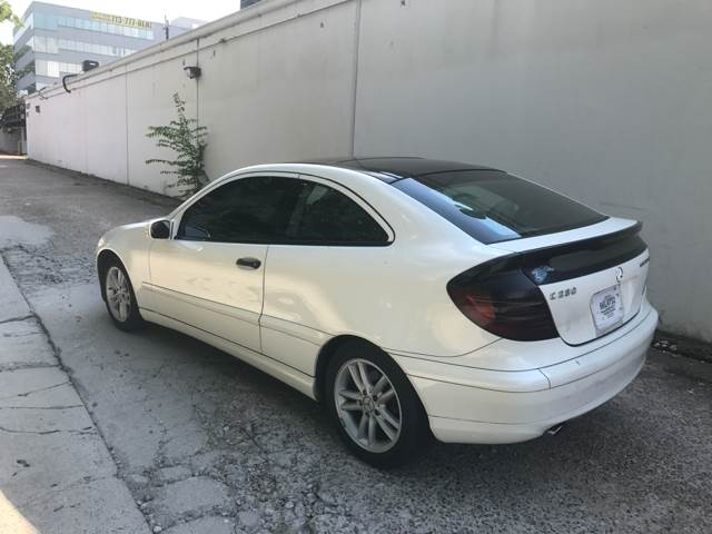 2003 Mercedes-Benz C-Class C 230 Kompressor 2dr Coupe - Houston TX