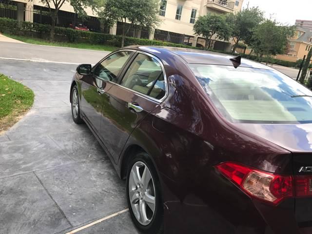 2011 Acura TSX 4dr Sedan 5A - Houston TX