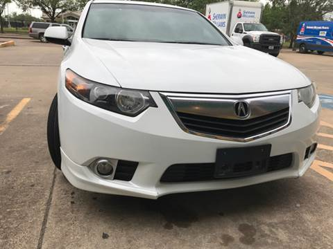 2012 Acura TSX for sale in Houston, TX