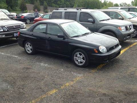 2002 Subaru Impreza for sale at SOUTH VALLEY AUTO in Torrington CT