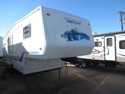 2001 Sunny Brook Mobile Scout 29RK for sale in Burleson, TX