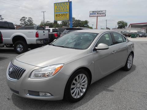 2011 Buick Regal for sale at ARENA AUTO SALES,  INC. in Holly Hill FL