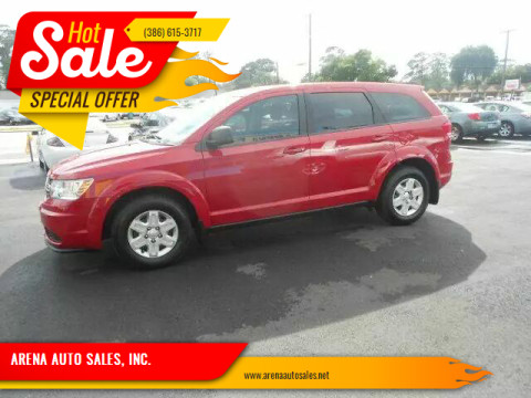 2012 Dodge Journey for sale at ARENA AUTO SALES,  INC. in Holly Hill FL