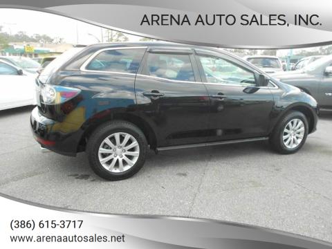 2010 Mazda CX-7 for sale at ARENA AUTO SALES,  INC. in Holly Hill FL