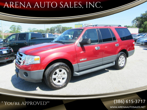 2007 Ford Expedition for sale at ARENA AUTO SALES,  INC. in Holly Hill FL
