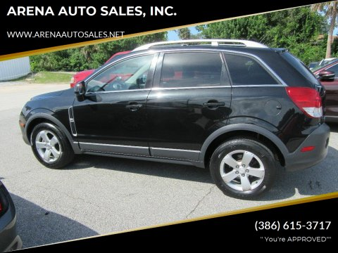 2012 Chevrolet Captiva Sport for sale at ARENA AUTO SALES,  INC. in Holly Hill FL