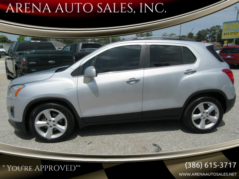 2015 Chevrolet Trax for sale at ARENA AUTO SALES,  INC. in Holly Hill FL