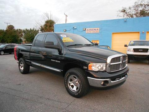 2005 Dodge Ram Pickup 1500 for sale at ARENA AUTO SALES,  INC. in Holly Hill FL