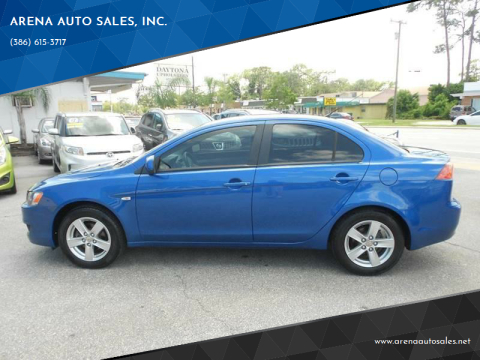 2009 Mitsubishi Lancer for sale at ARENA AUTO SALES,  INC. in Holly Hill FL