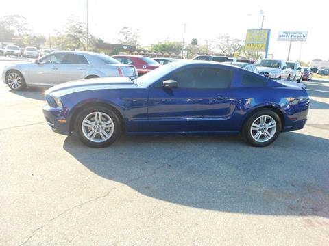 2013 Ford Mustang for sale at ARENA AUTO SALES,  INC. in Holly Hill FL