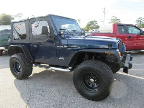 2002 Jeep Wrangler for sale in Holly Hill, FL