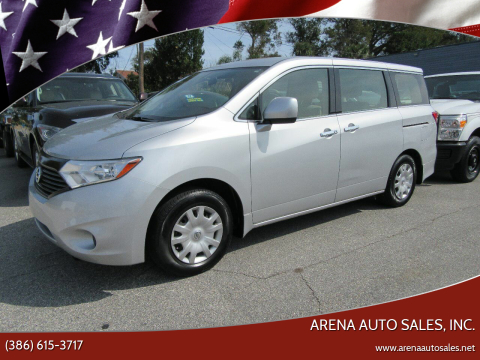 2014 Nissan Quest for sale at ARENA AUTO SALES,  INC. in Holly Hill FL