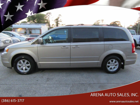 2009 Chrysler Town and Country for sale at ARENA AUTO SALES,  INC. in Holly Hill FL