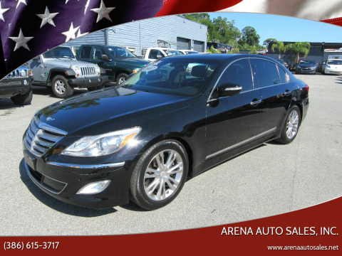 2012 Hyundai Genesis for sale at ARENA AUTO SALES,  INC. in Holly Hill FL