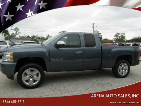 2010 Chevrolet Silverado 1500 for sale at ARENA AUTO SALES,  INC. in Holly Hill FL