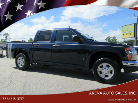 2007 Chevrolet Colorado for sale at ARENA AUTO SALES,  INC. in Holly Hill FL