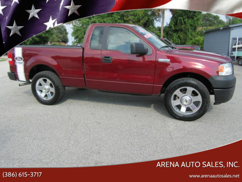 2006 Ford F-150 for sale at ARENA AUTO SALES,  INC. in Holly Hill FL