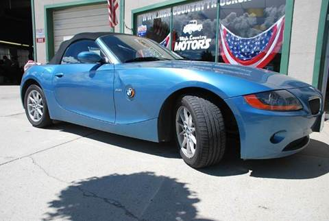 2003 BMW Z4 for sale at HIGH COUNTRY MOTORS in Granby CO