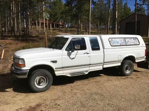 1995 Ford F-250 for sale at HIGH COUNTRY MOTORS in Granby CO