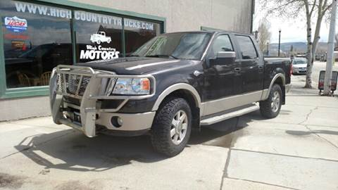 2007 Ford F-150 for sale at HIGH COUNTRY MOTORS in Granby CO