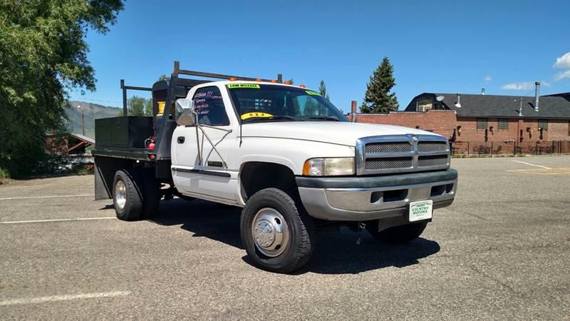 1998 Dodge Ram Pickup 3500 for sale at HIGH COUNTRY MOTORS in Granby CO