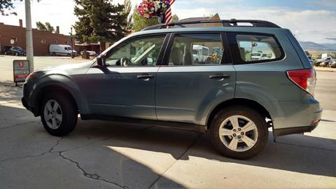 2010 Subaru Forester for sale at HIGH COUNTRY MOTORS in Granby CO
