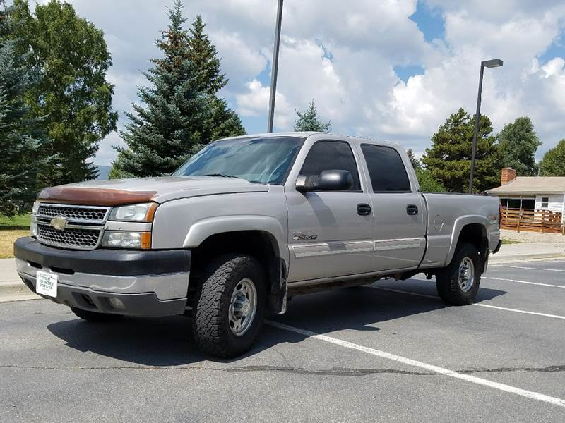 2005 Chevrolet Silverado 2500HD for sale at HIGH COUNTRY MOTORS in Granby CO