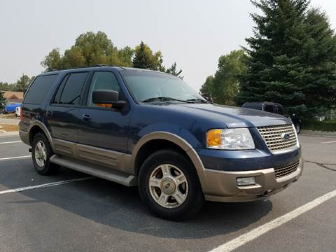 2004 Ford Expedition for sale at HIGH COUNTRY MOTORS in Granby CO