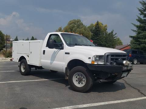 2003 Ford F-350 Super Duty for sale at HIGH COUNTRY MOTORS in Granby CO