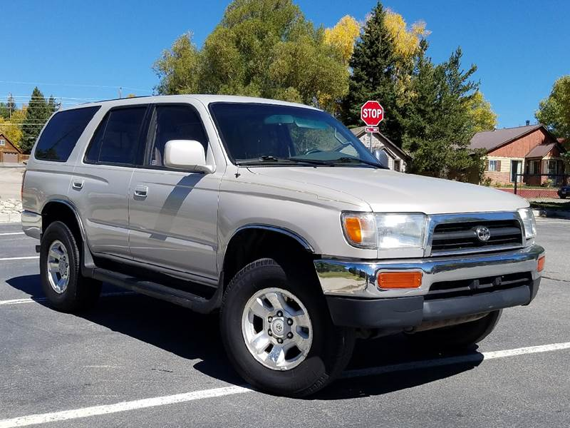 1998 Toyota 4Runner for sale at HIGH COUNTRY MOTORS in Granby CO
