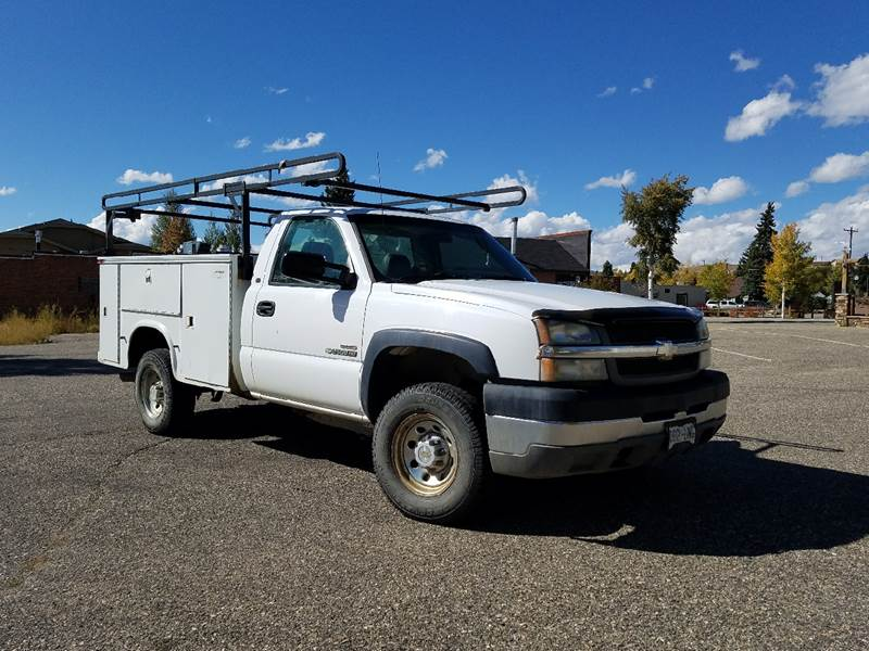 2004 Chevrolet 2500HD DURAMAX for sale at HIGH COUNTRY MOTORS in Granby CO