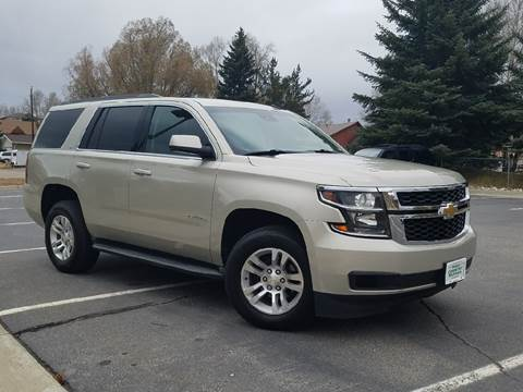 2015 Chevrolet Tahoe for sale at HIGH COUNTRY MOTORS in Granby CO