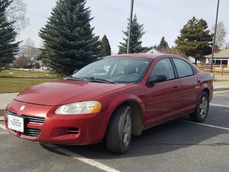 2002 Dodge Stratus for sale at HIGH COUNTRY MOTORS in Granby CO