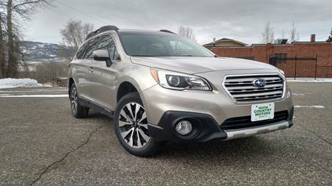 2015 Subaru Outback for sale at HIGH COUNTRY MOTORS in Granby CO