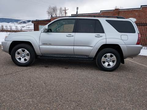 2005 Toyota 4Runner for sale at HIGH COUNTRY MOTORS in Granby CO