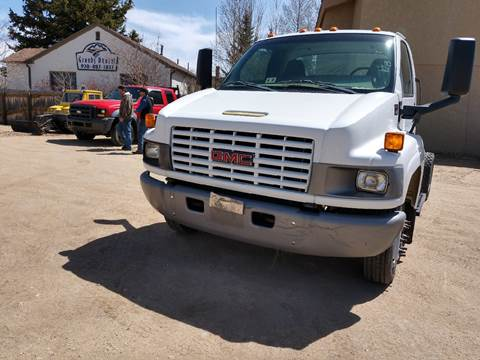 2003 GMC TOPKICK for sale at HIGH COUNTRY MOTORS in Granby CO