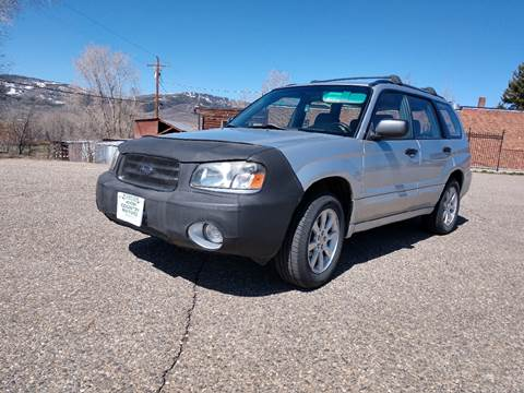 2005 Subaru Forester for sale at HIGH COUNTRY MOTORS in Granby CO