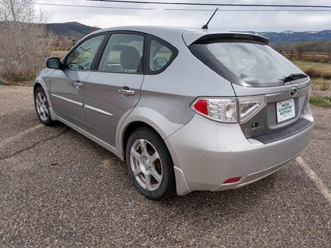 2009 Subaru Impreza for sale at HIGH COUNTRY MOTORS in Granby CO