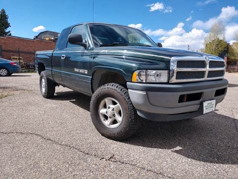 2001 Dodge Ram Pickup 1500 for sale at HIGH COUNTRY MOTORS in Granby CO