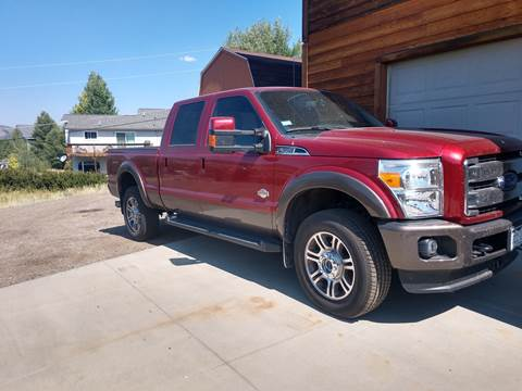 2016 Ford F-350 Super Duty for sale at HIGH COUNTRY MOTORS in Granby CO