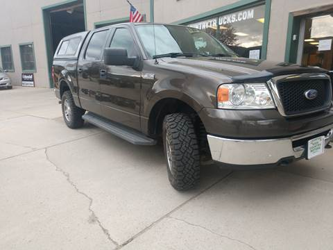 2008 Ford F-150 for sale at HIGH COUNTRY MOTORS in Granby CO