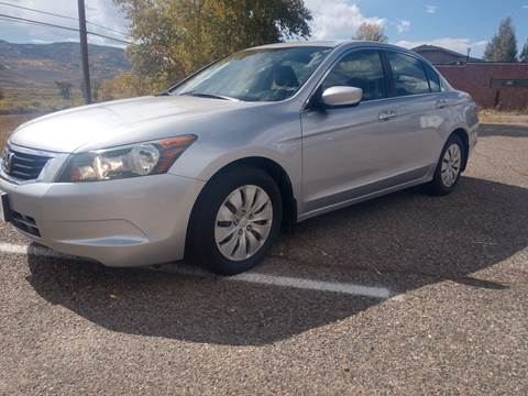 2008 Honda Accord for sale at HIGH COUNTRY MOTORS in Granby CO