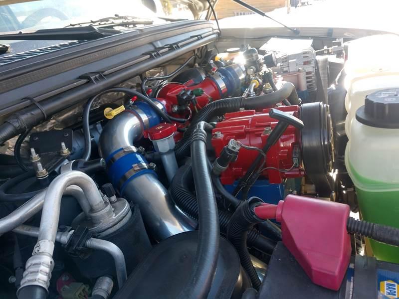 2000 ford f350 diesel fuel lines
