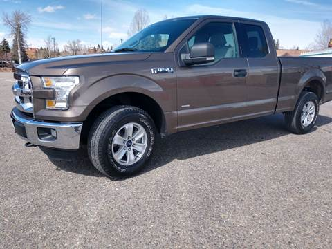 2016 Ford F-150 for sale at HIGH COUNTRY MOTORS in Granby CO