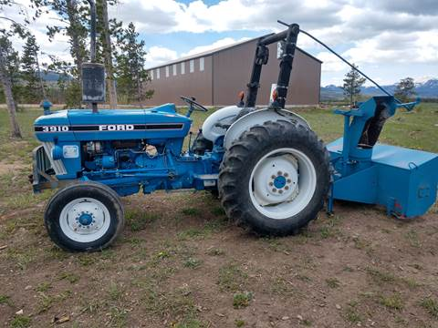1987 Ford 3910 for sale in Granby, CO