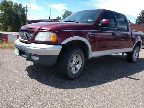 2003 Ford F-150 for sale at HIGH COUNTRY MOTORS in Granby CO