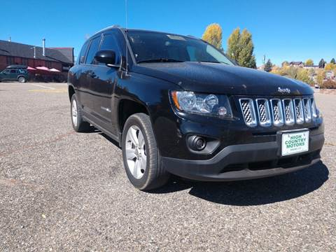 2016 Jeep Compass for sale at HIGH COUNTRY MOTORS in Granby CO