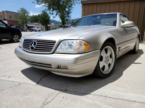 1999 Mercedes-Benz SL-Class for sale at HIGH COUNTRY MOTORS in Granby CO